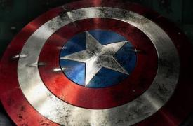 看看这个自制的真实的美国队长盾牌