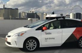 乘坐Yandex无人驾驶汽车在拉斯维加斯漫步