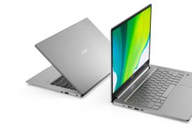 Acer采用Intel,AMD型号刷新Swift 3笔记本电脑