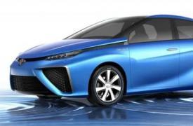丰田在东京全球首发前展示新的FCV概念