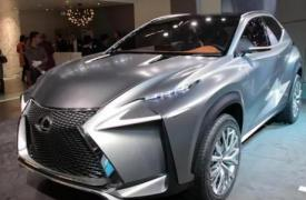 雷克萨斯LFNX概念车预览生产跨界车型