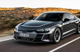 奥迪推出E-Tron GT电动轿车 定于今年夏天上市