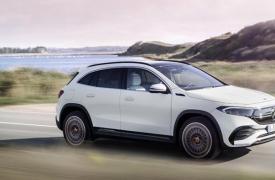 梅赛德斯奔驰的新款EQA电动SUV提供300英里的续航里程和快速充电
