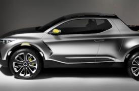 现代汽车谈到了圣克鲁斯皮卡的首批生产