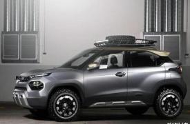 汽车博览会上首次亮相的HBX概念为我们预览了即将面世的H2X