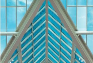 """""""智能玻璃""""是一种节能产品,在汽车、建筑和飞机窗户上都能找到它的身影"""