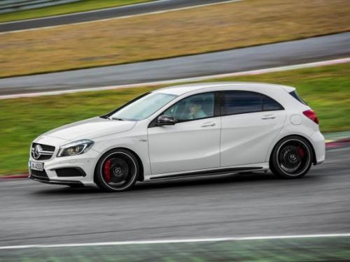 2019年Mercedes-AMG A45 S原型车