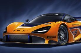 汽车动态看点迈凯轮正在进行这非凡的720S GT3赛车