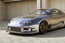 汽车动态看点丰田Supra原型车将在7月15日之前在山坡上进行日常运行