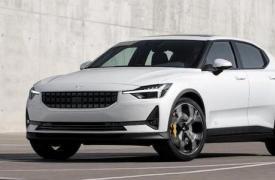 汽车动态看点标准的Polestar2获得了该品牌标志性的黄色安全带